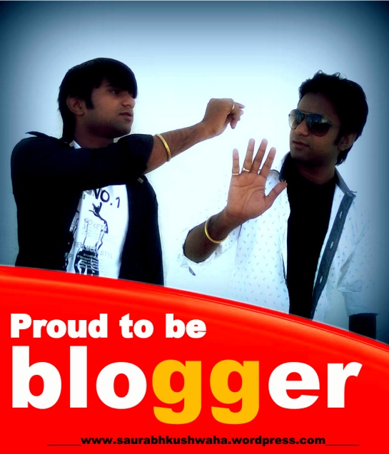 proud to be blogger