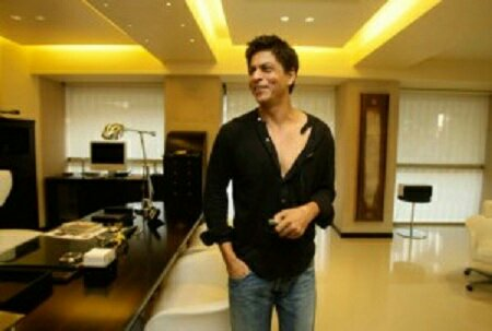 Latest photos of mannat shahrukh khan s house at bandra Shahrukh khan home inside