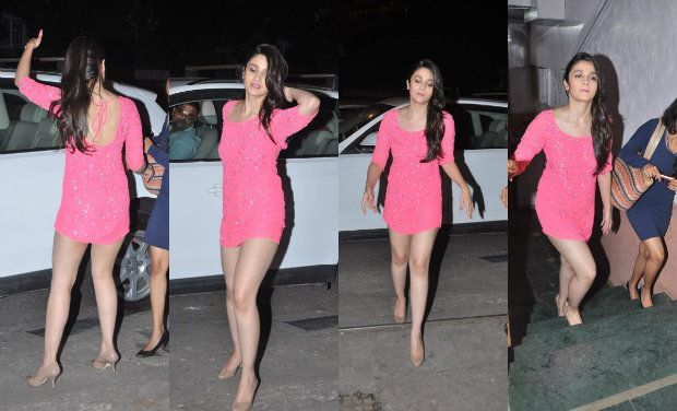 Alia Bhatt, who was lifted off her feet at the trailer ...