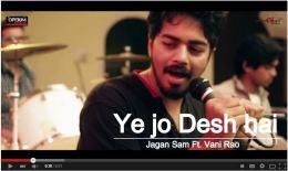 Yeh Jo Desh Hai  (Cover) – Jagan Sam Ft. Vani Rao Must watch this awesomesong