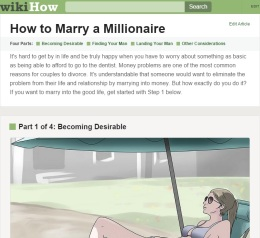 The Internet Has A Step By Step Guide To Find A Millionaire Husband & It Will Make Your BloodBoil